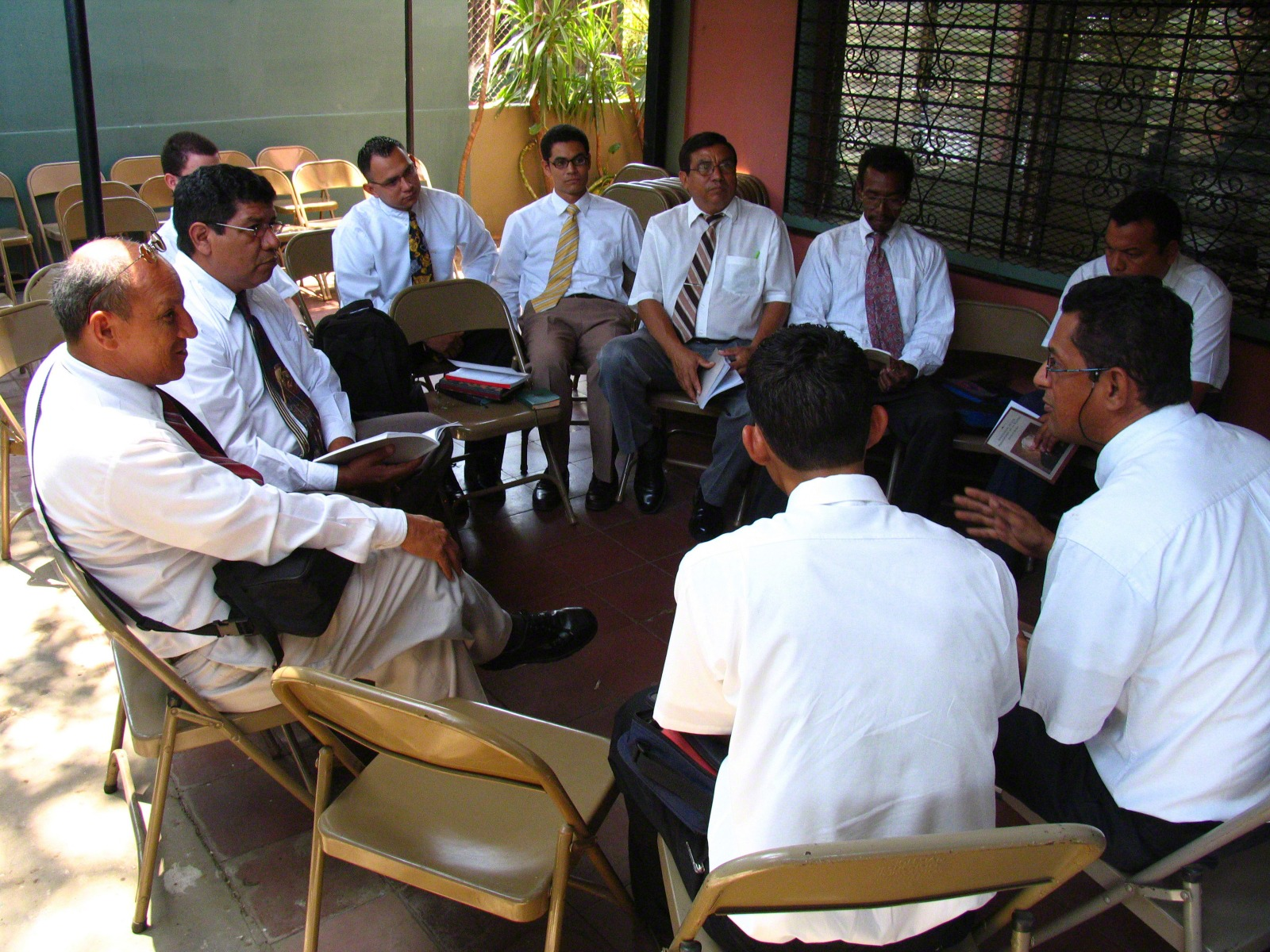 Lds Or Latter Day Saints Meeting Room