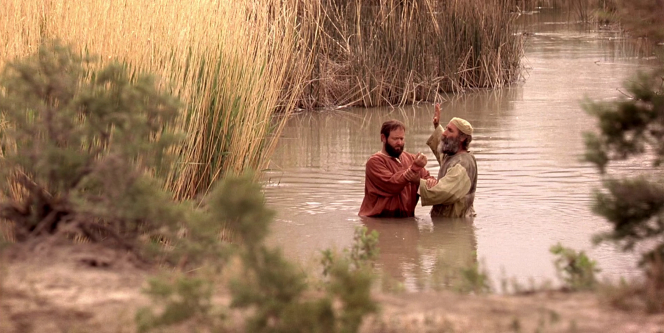Acts 22, Ananias baptizes Saul, who is named Paul