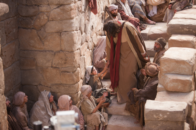 Acts: 5:12–42, Peter preaches to followers of Christ