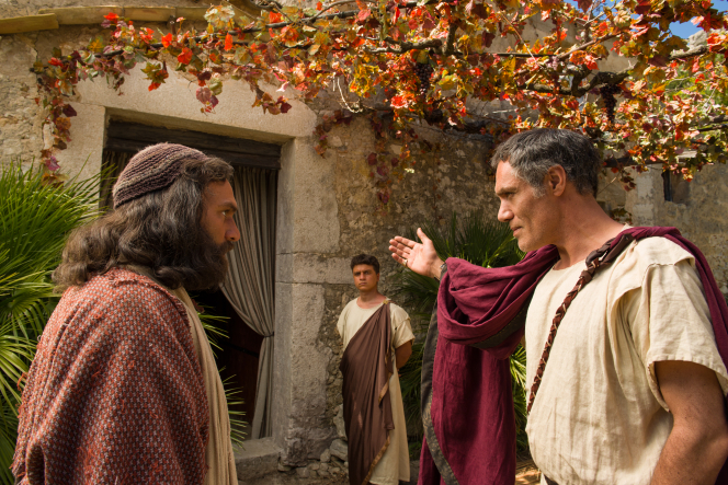 Acts 10:1–48, 11:1–18, Peter enters the home of a Gentile in a vision