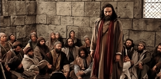 Acts 15, Peter stands among the Apostles
