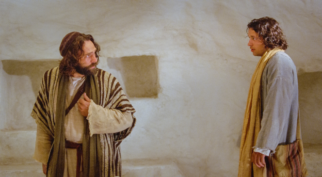 John 20:3–18, Peter and John visit the tomb