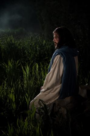 Matthew 26:36–56, Christ prays in the garden