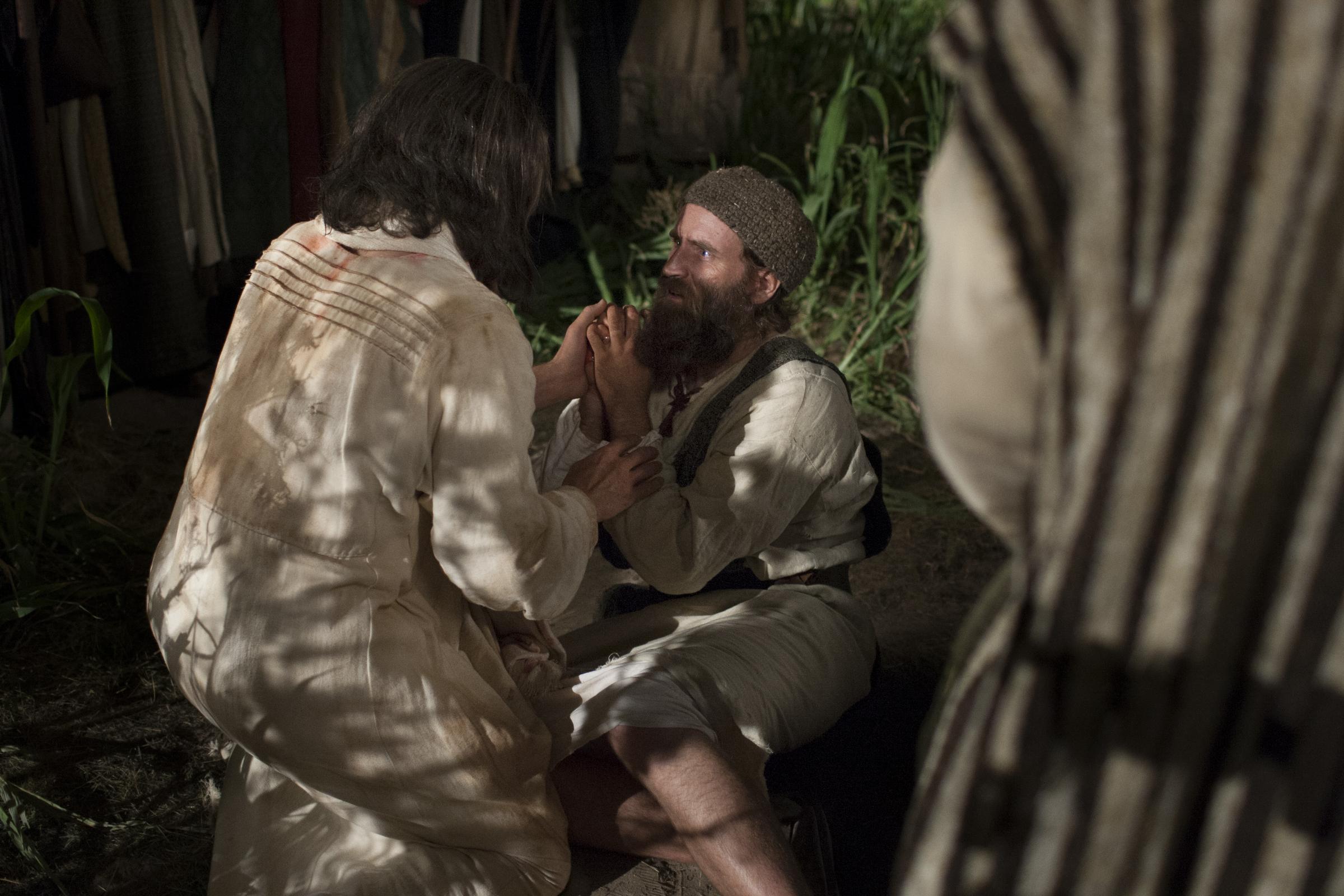 Cristo sana la oreja herida