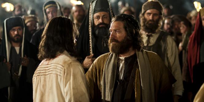 Matthew 26:45–50, Judas betraying Jesus in the garden