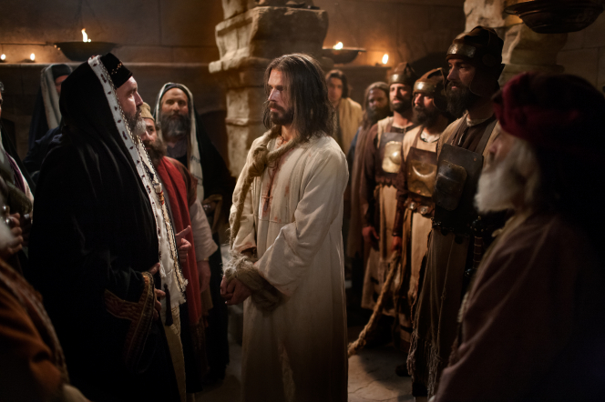 Matthew 26:57–75, Jesus Christ on trial