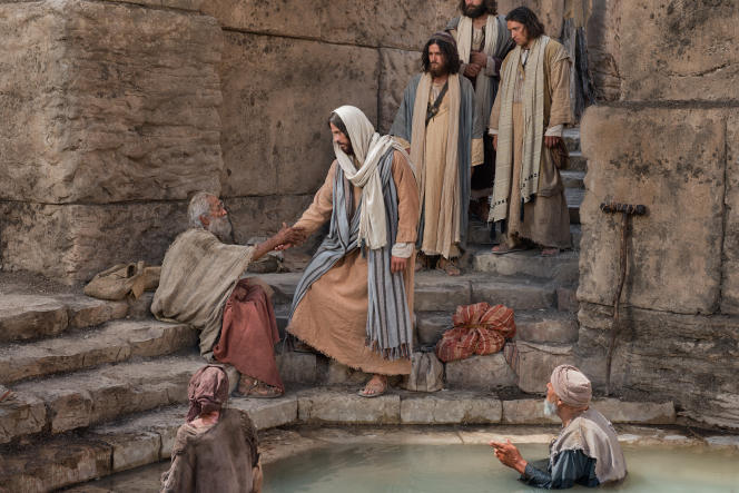 John 5:2–12, Christ helps a man by the pool of Bethesda