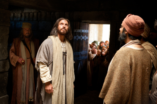 Mark 2:1–12, Jesus waits for man with palsy