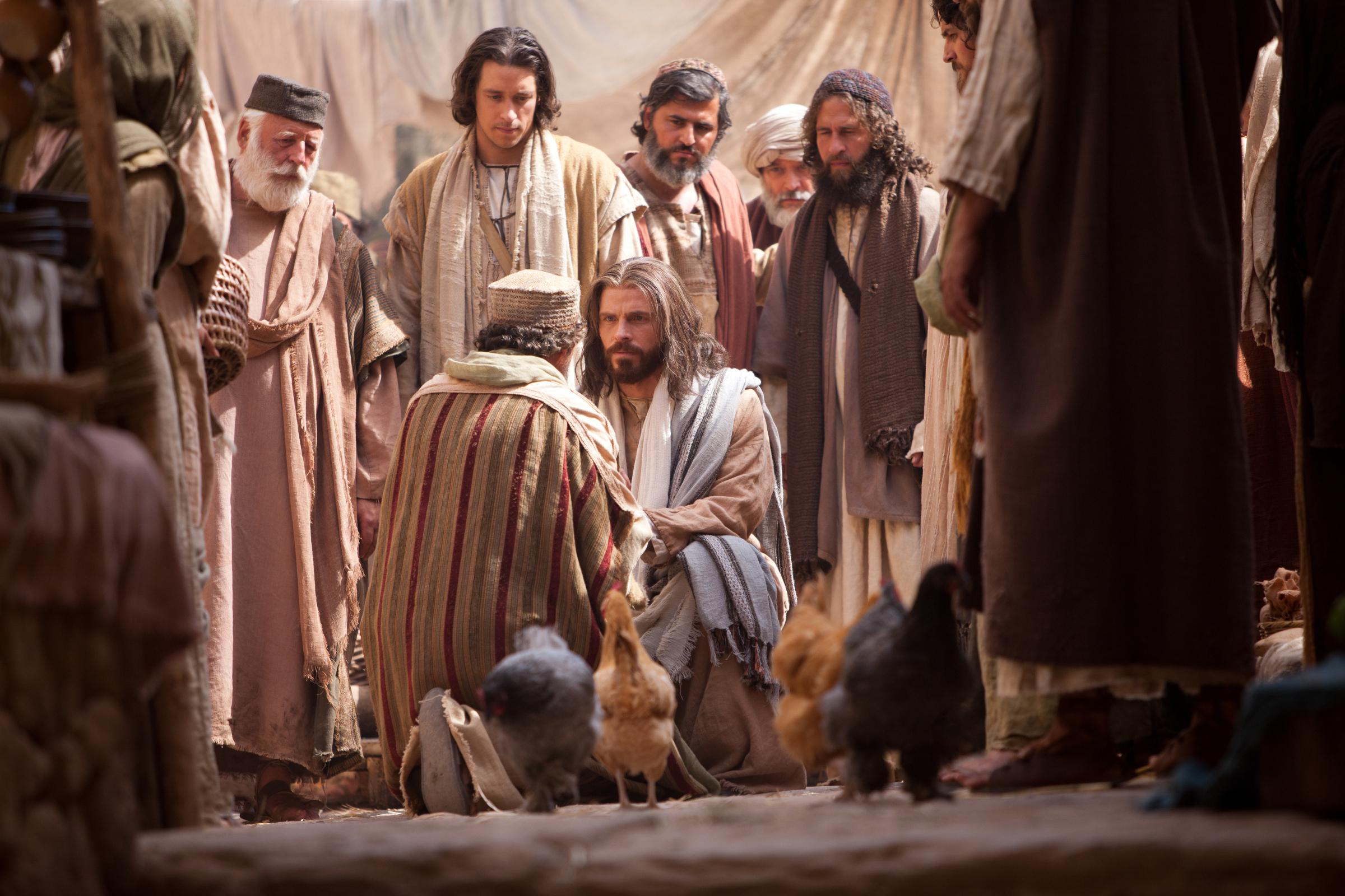 Jairus Approaches Jesus