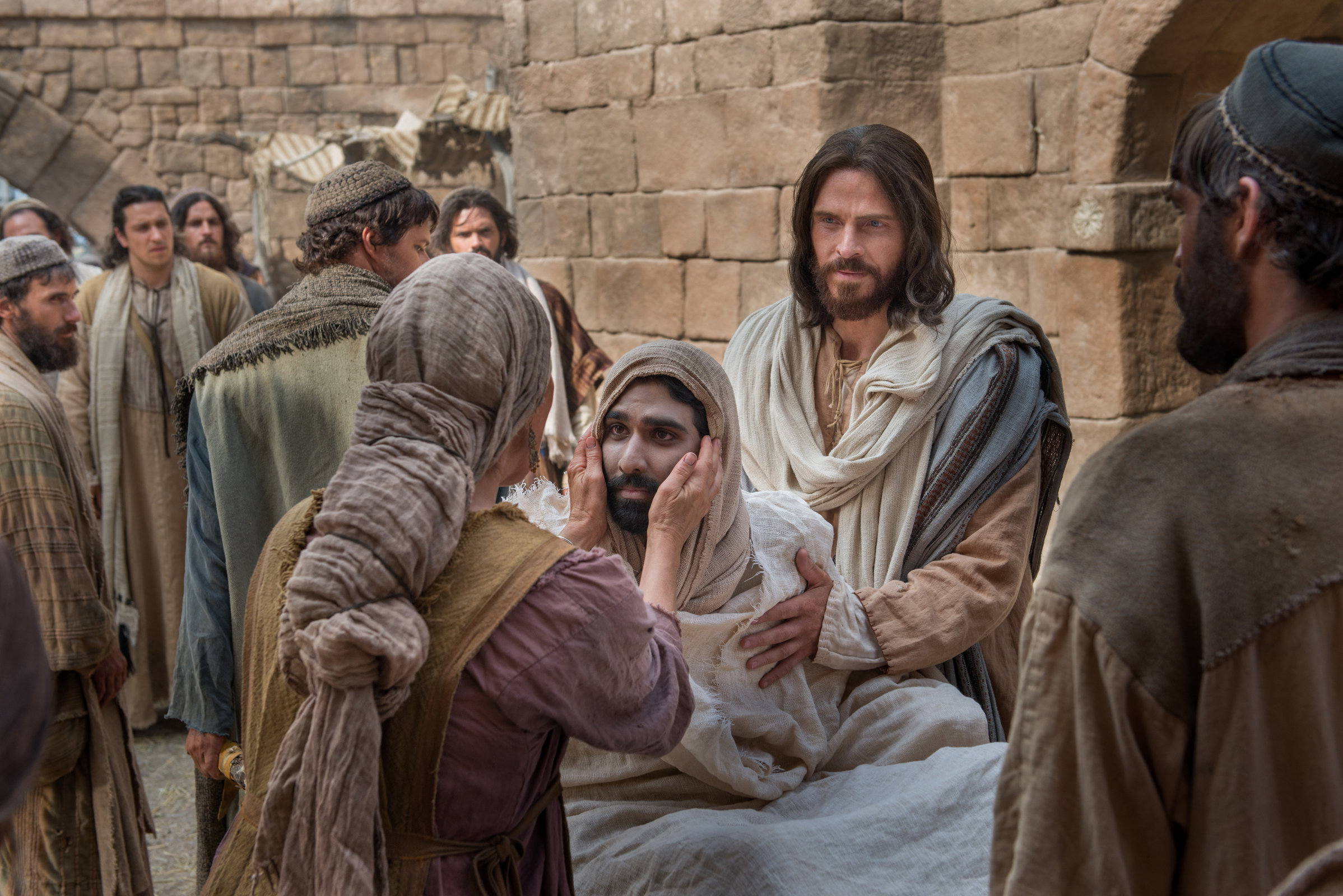 Image result for Jesus at Nain, pictures