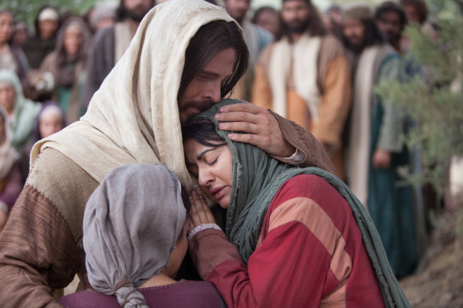John 11:1–44, Mary of Bethany and others mourn for Lazarus