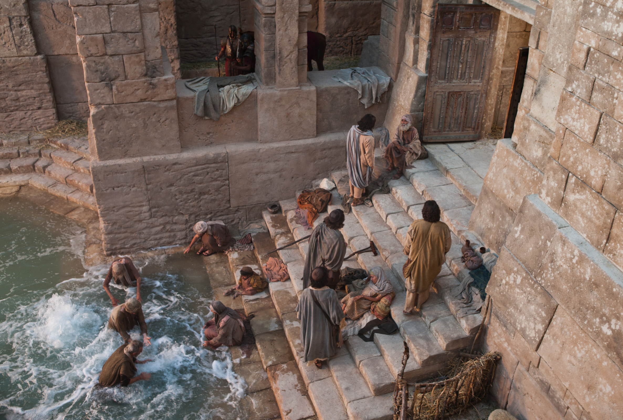 The pool of bethesda for Healing at the pool of bethesda coloring page