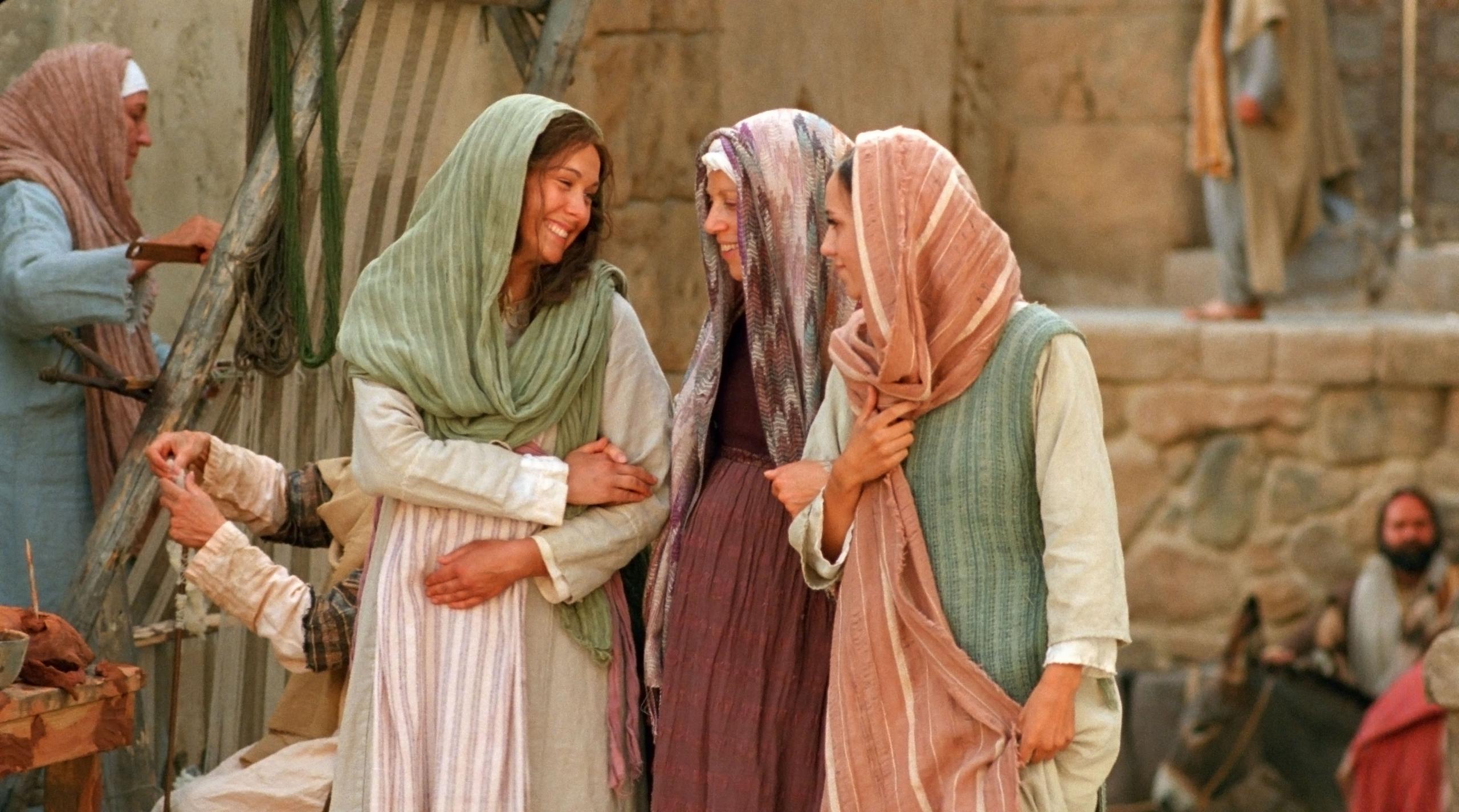 María y Elisabet se regocijan