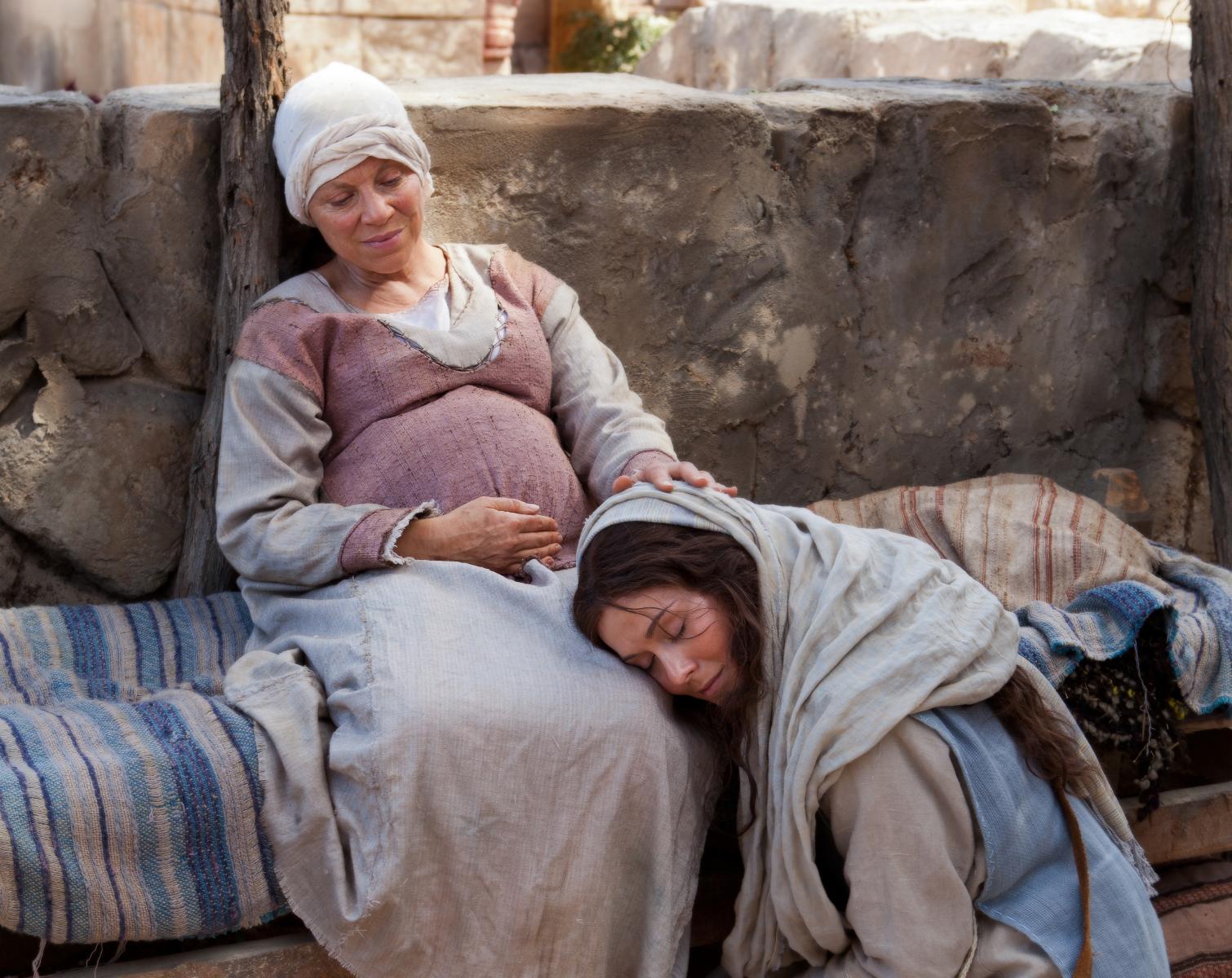 María visita a Elisabet