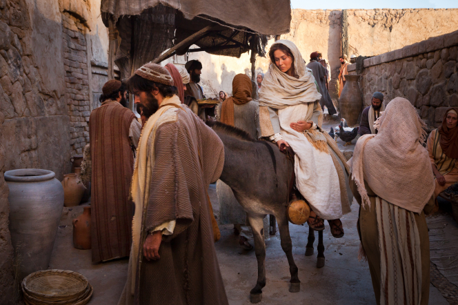 Luke 2:4–6, Mary and Joseph search for an inn