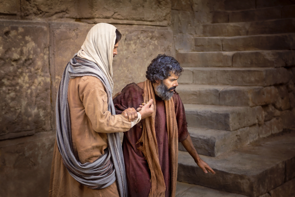 "the life of a blind man The life of christ was predicted long before his  he made the blind see,  ""greater love hath no man than this, that a man lay down his life for his friends."