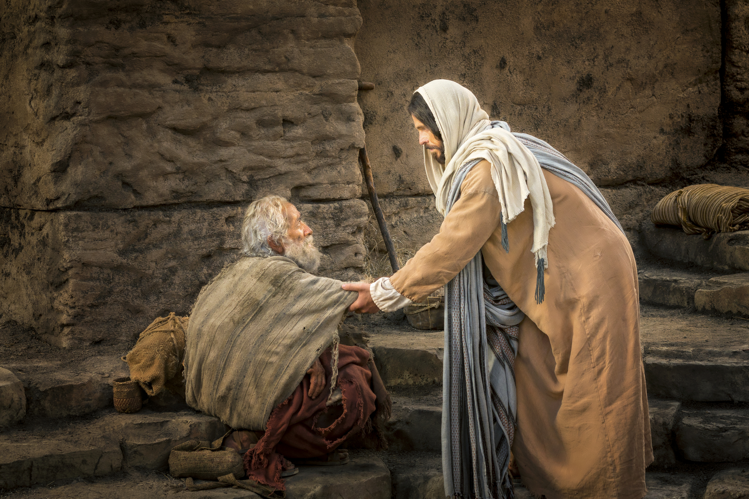 Jesus Performs Healing Miracles Mormon Channel