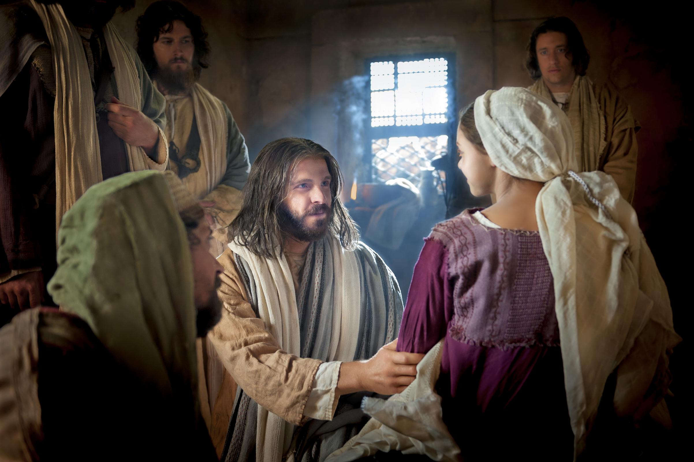 jesus raises the daughter of jairus mormon channel