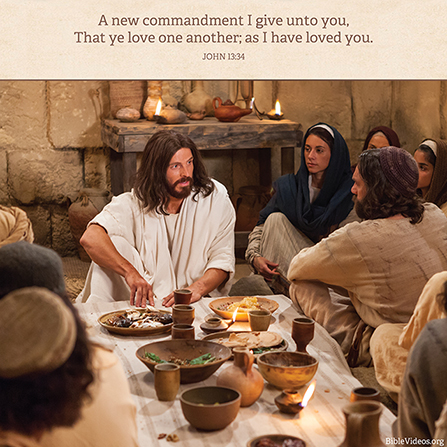 John 13:34, We are commanded to love one another