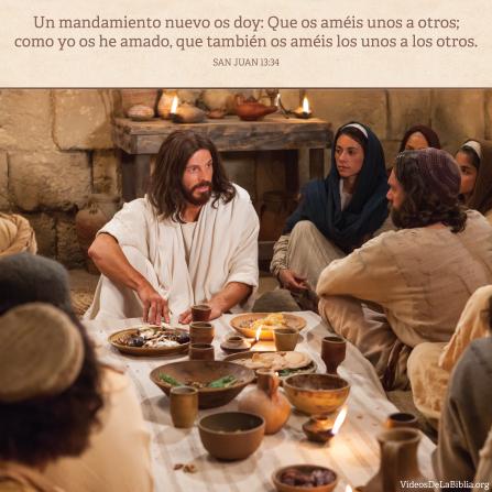 Juan13:34, Se nos manda amarnos los unos a los otros