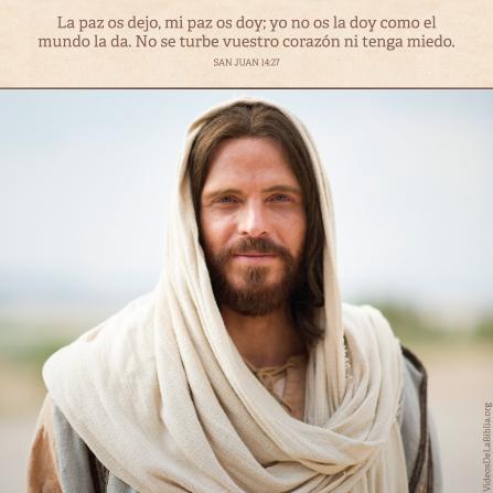 Juan 14:27, Jesucristo trae paz en formas que el mundo no puede