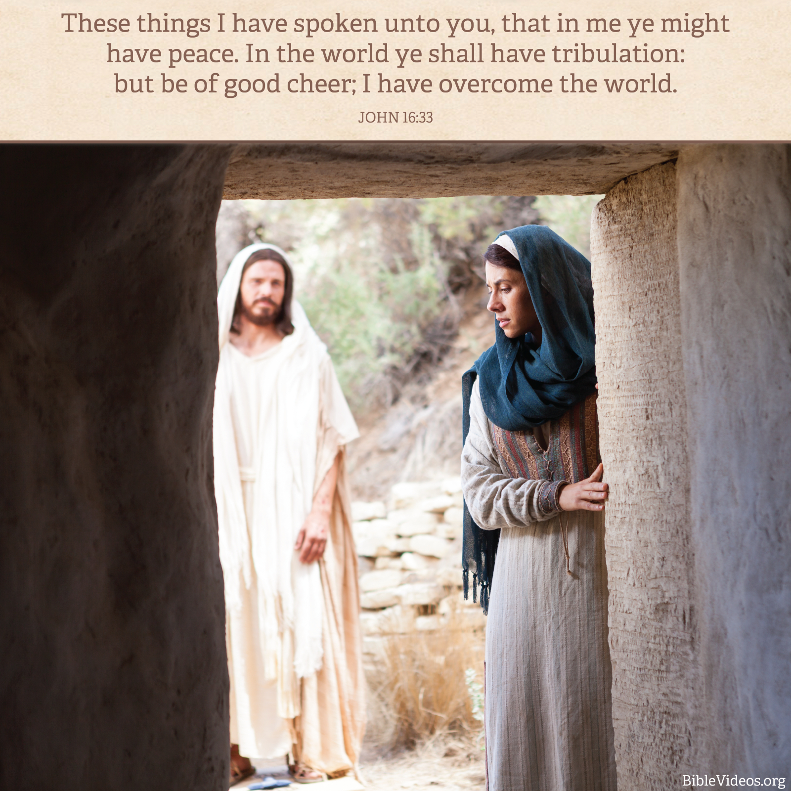 Lds Quotes On Peace: Be Of Good Cheer
