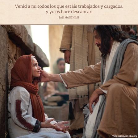 Mateo 11:28, Hallamos descanso en Cristo
