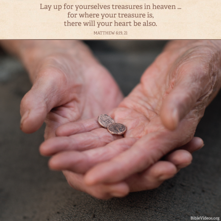 Matthew 6:19, 21, Our hearts are found with the things we treasure