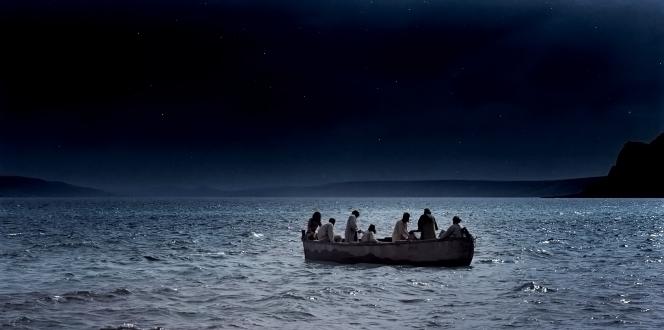 John 21:1–22, The disciples fish all night