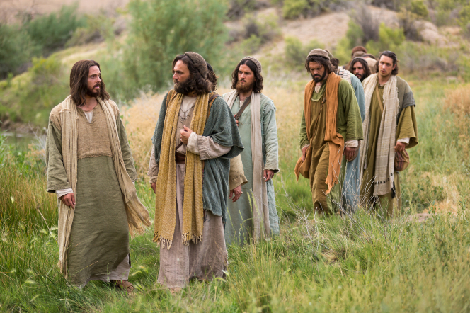 Matthew 16:21–28, Jesus walks with His disciples