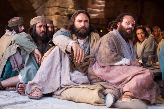 Matthew 18:1–11, The Apostles listen to Christ