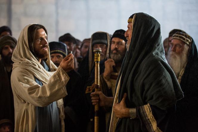 Mark 12:13–17, Jesus speaks to the Pharisees