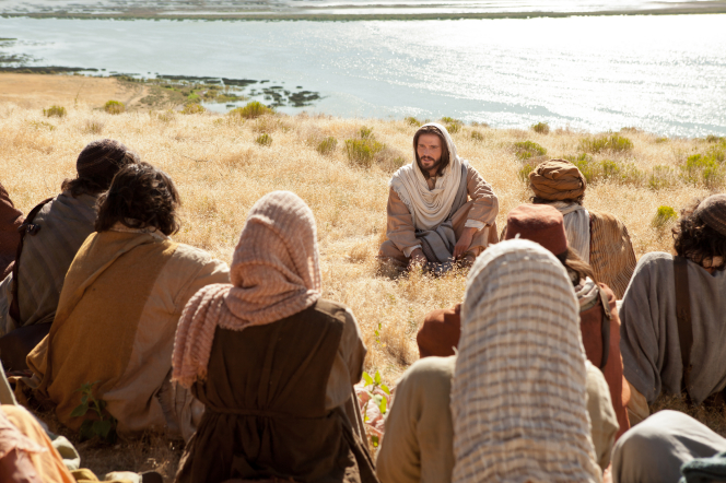 Matthew 5:13–16, Christ gives the Sermon on the Mount