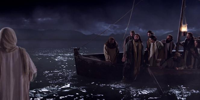 Jesus Walks On Water Wallpaper Disciples See Jesus Wa...