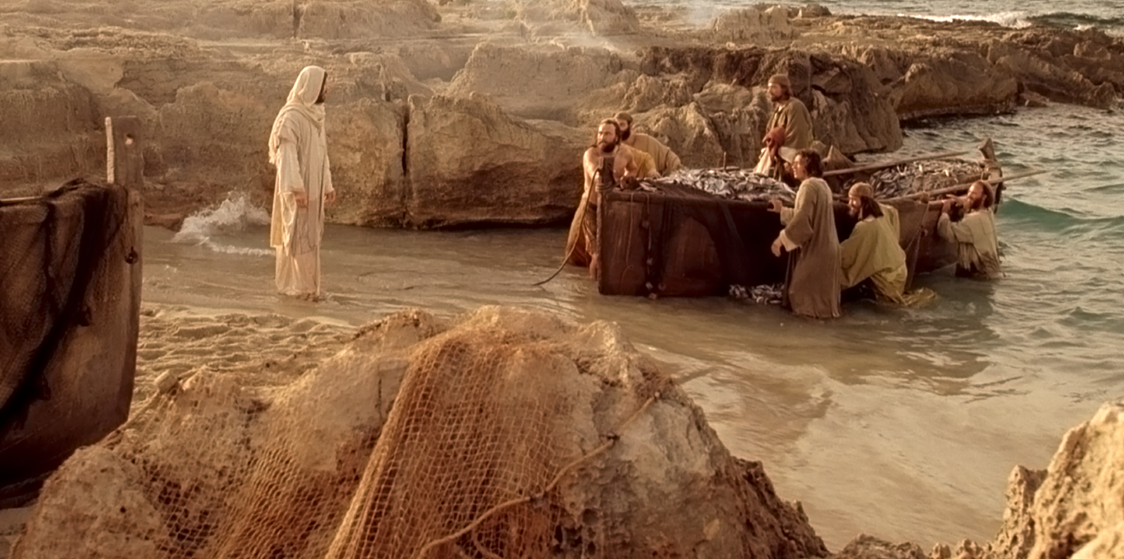 Image result for Christ on the shore after the resurrection