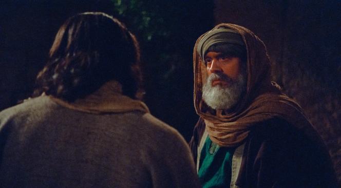 John 3:1–36, Nicodemus listens to Jesus