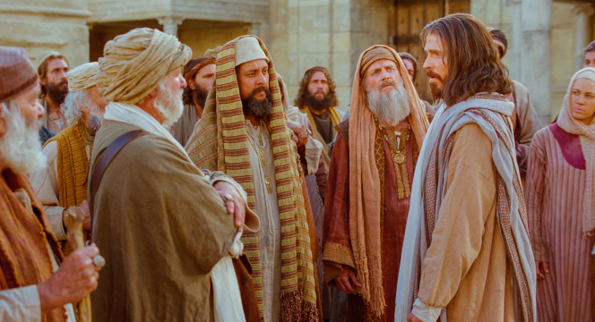 John 8:12–58, Jesus and the Pharisees