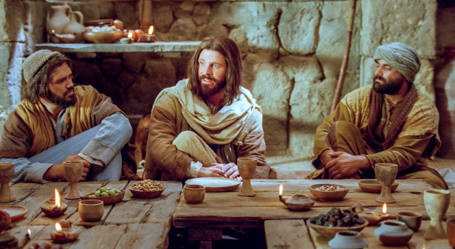 Luke 15:11–32, The prodigal son spends his money on riotous living