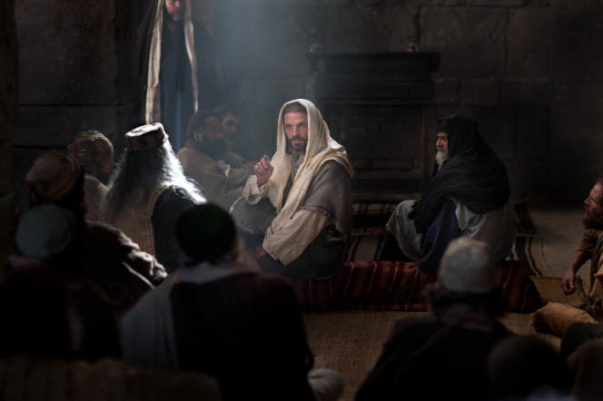 Luke 4:15–30, Jesus speaks to those who do not believe He is the Messiah