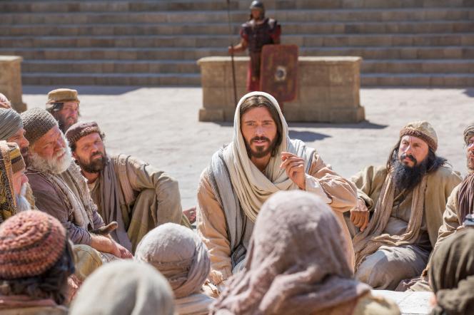 John 10:1–18, Christ revealing that He is the Good Shepherd