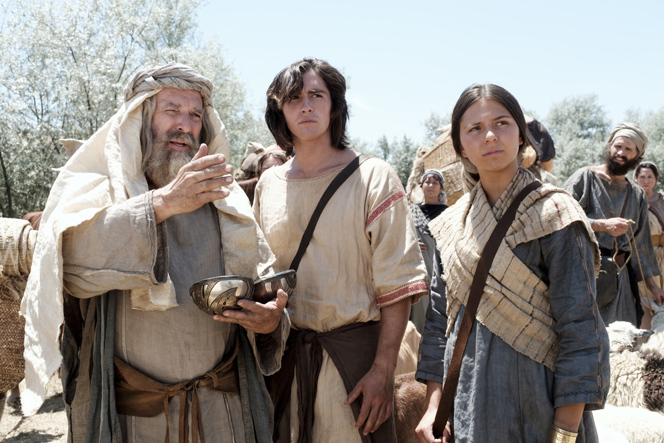 Lehi, Nephi, and Nephi's wife