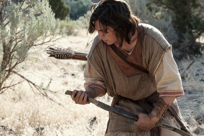 Nephi holding broken bow