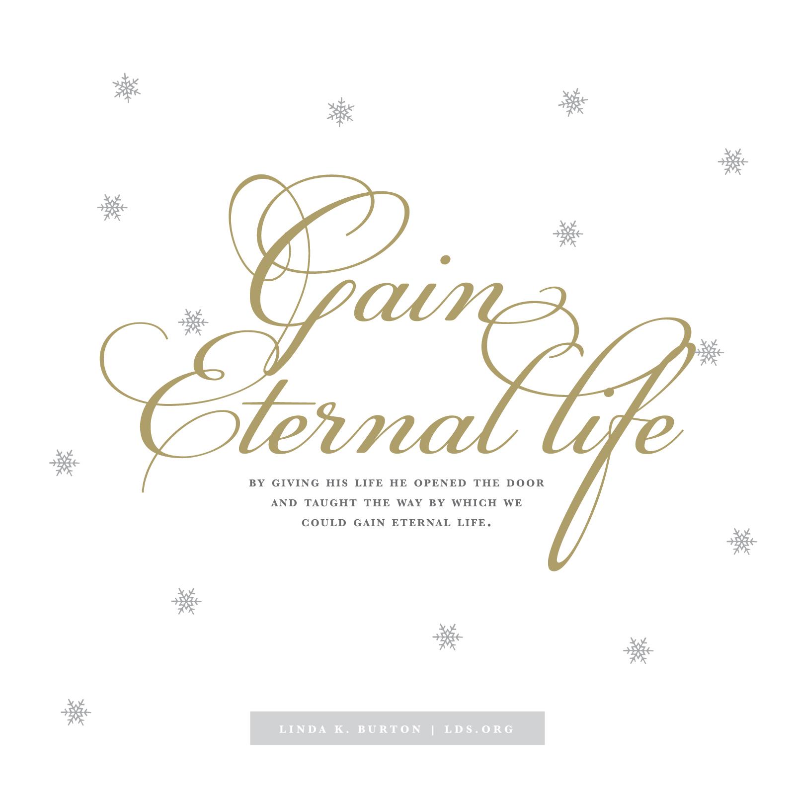 LDS Eternal Life