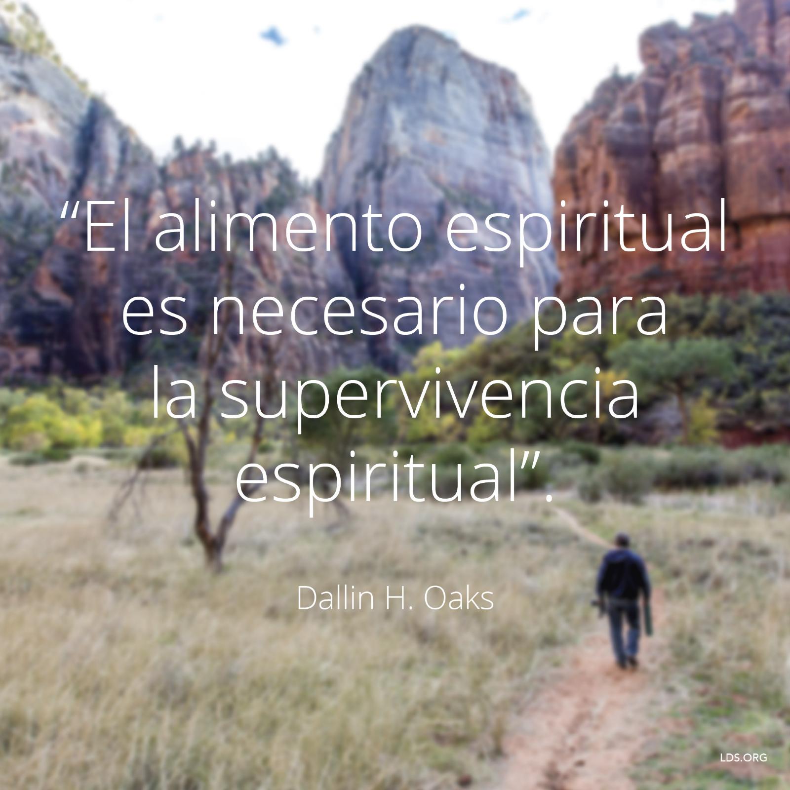 El alimento espiritual