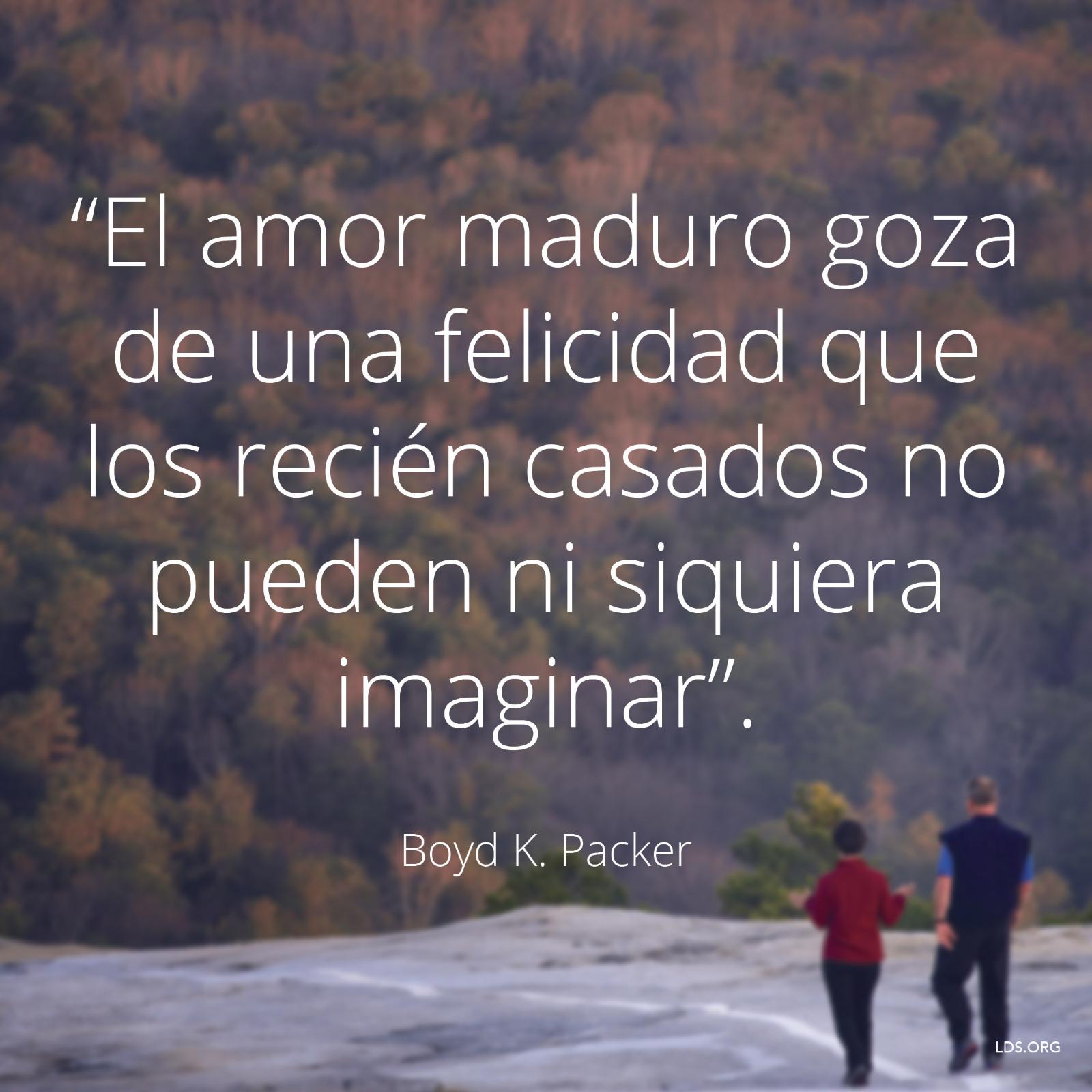 El Amor Maduro