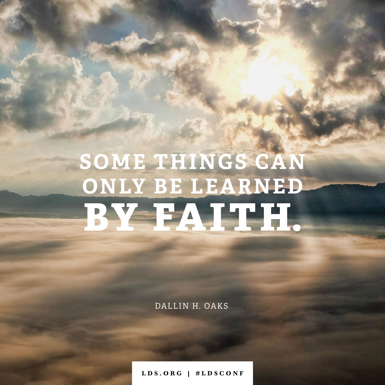 Faith Wallpaper: Learned By Faith