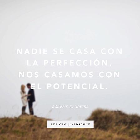 Nos casamos con el potencial