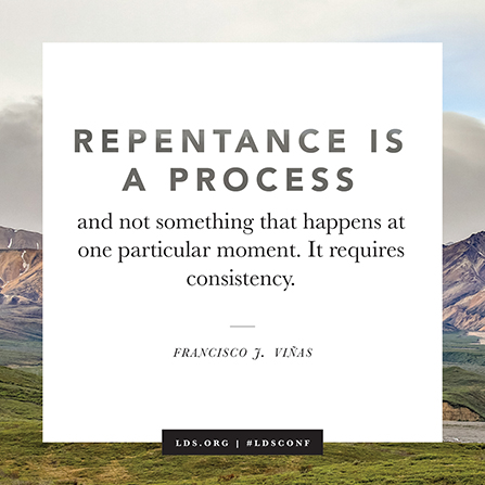 Repentance Is a Process