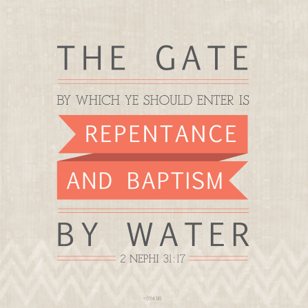 repentance and baptism