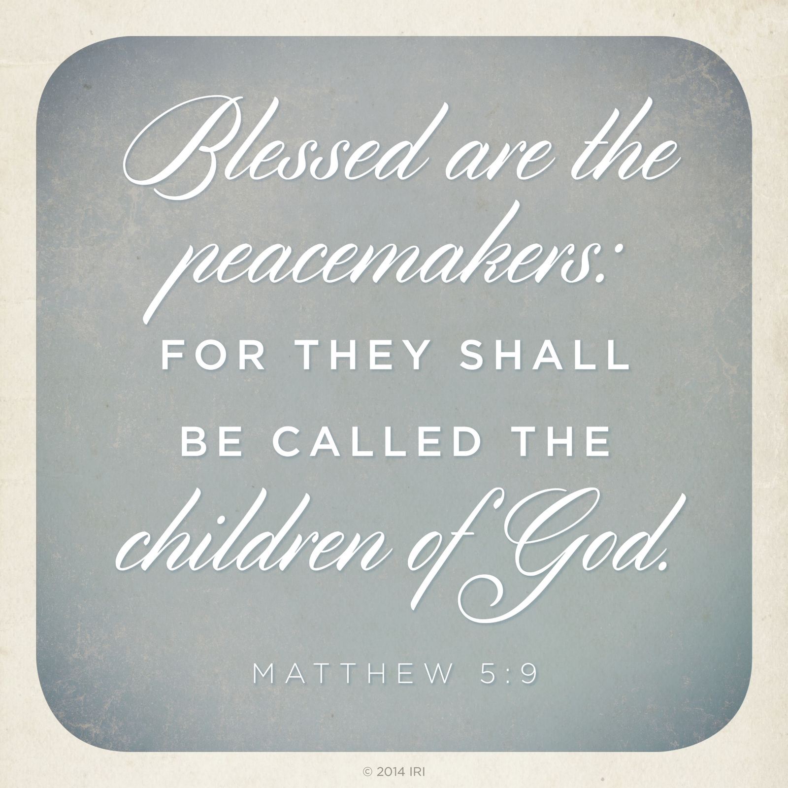 Peacemaker Quotes Simple Blessed Are The Peacemakers